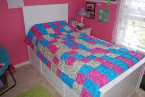 Twin Bed Finished