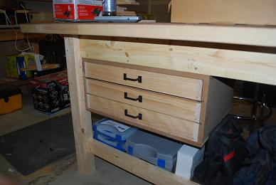 Completed Case and Drawers