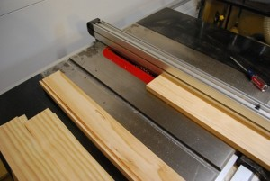 Cutting Grooves for Drawer Bottom