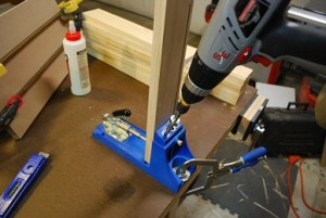 Drawer Joints Using Kreg Jig