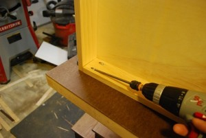 Drawer Assembly using Pocket Holes