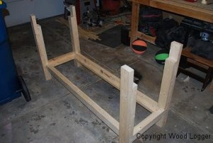 Workbench Frame Assembly