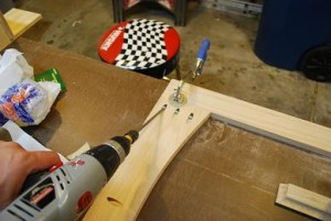 Assembling Mirror Frame with Pocket Hole Screws