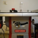 Craftsman Tablesaw 21833 Front