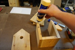 Window Birdhouse Assembly Front