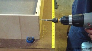Benchtop Sander Table Assembly