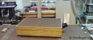 Benchtop Sander Table Completed