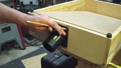 benchtop sander table port woodlogger. Black Bedroom Furniture Sets. Home Design Ideas