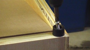 Benchtop Sander Table Rubber Bumpers