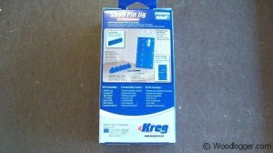 Kreg Shelf Pin Jig Box Back