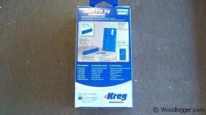 Kreg Shelf Pin Jig Box Back