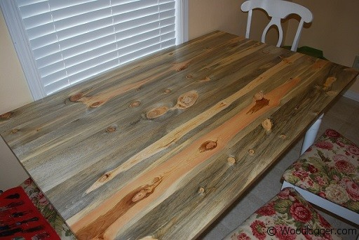 Antique Rustic Pine Table Top - Rough wood table tops