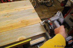 Table Top Finish Cut