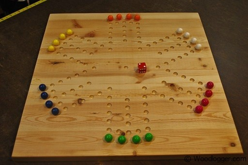 Marble Game Board Completed