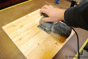 Marble Game Board Sanding