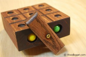Marble Tic-Tac-Toe Finished 2