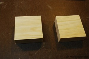 Marble Tic-Tac-Toe Blocks