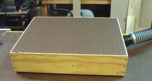 DownDraft Sander Table