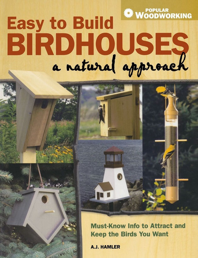 Photo of Easy to Build Birdhouses A Natural Approach-Book Review