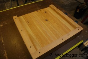 Fire Pit Bench Frame Side Assembly