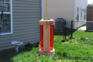 Hummingbird Feeder Completed