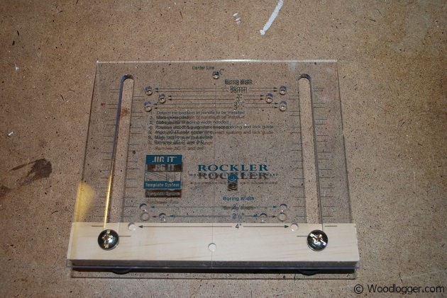Rockler Drawer Pull Jig