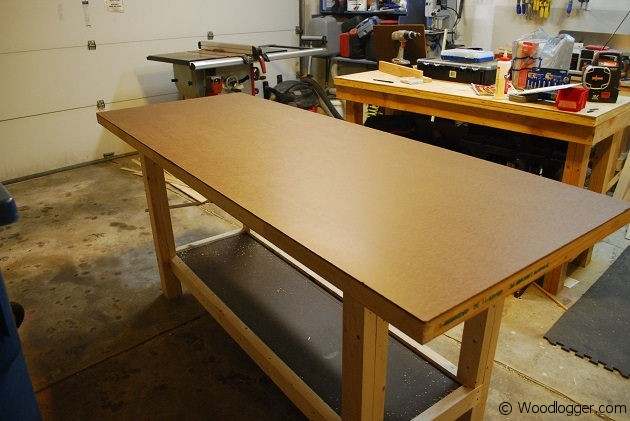 Shop Made Workbench