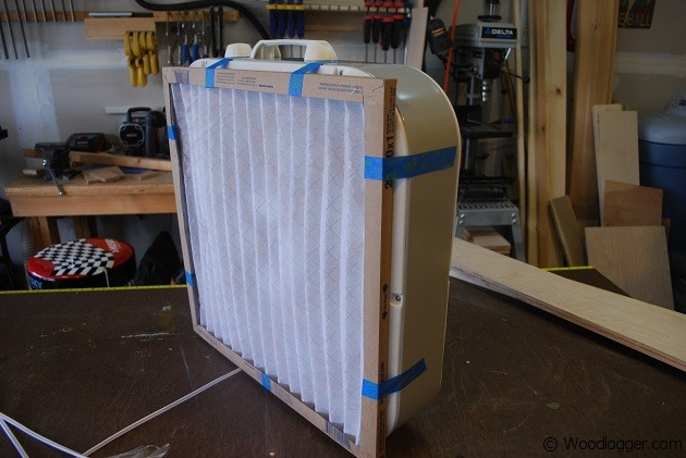 Simple Dust Collector Wood Logger