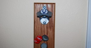 Bottle Opener Magnetic Catch Finished