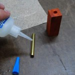 Wood Pen Turning Blank Insert Glue Up
