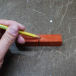 Wood Pen Turning Blank Prep