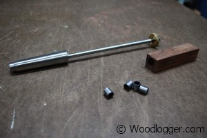 Wood Razor Blank Mandrel
