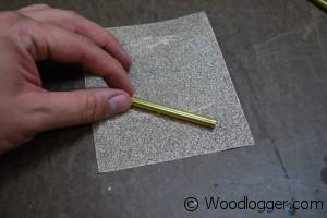 Wood Razor Brass Insert