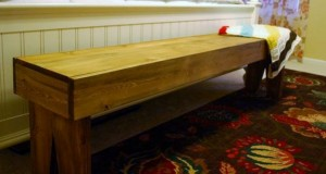 Bed Bench Finished