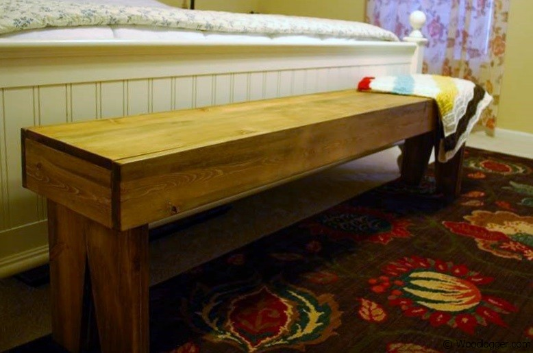 Photo of Hoosier Bed Bench