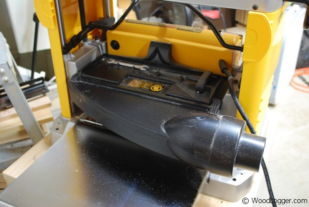 Dewalt DW734 Planer - Review WoodLogger