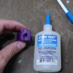 Whistle Key Ring CA Glue