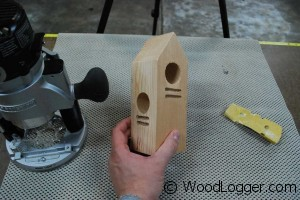 Woodpecker Feeder Rough Cuts