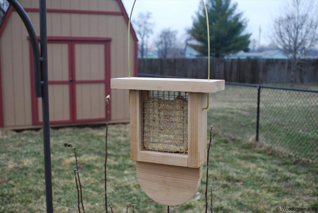 Suet Bird Feeder - WoodLogger