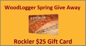 WoodLogger Spring Give Away