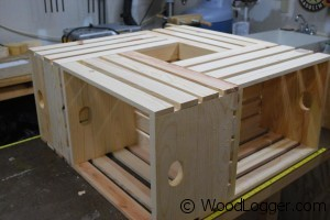 Crate Coffee Table Assembly