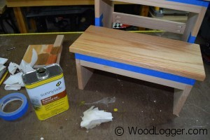 Step Stool Finishing
