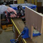 Step Stool Pocket Hole Assembly