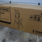 Craftsman Band Saw Boxed