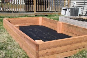 Raised Garden Bed Complete