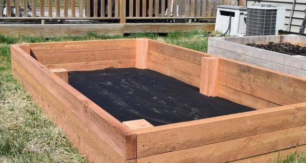 Raised Garden Bed Complete