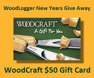 WoodLogger New Years Give Away