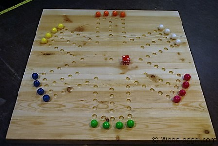 Photo of Marble Game Board