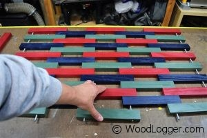 Wooden Mat Assembly