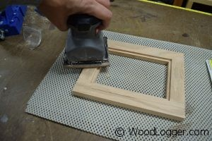Picture Frame Sanding